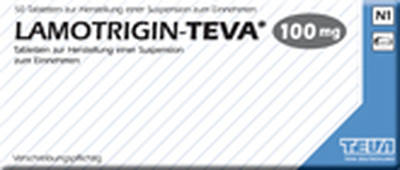 LAMOTRIGIN Teva 100mg Tabletten